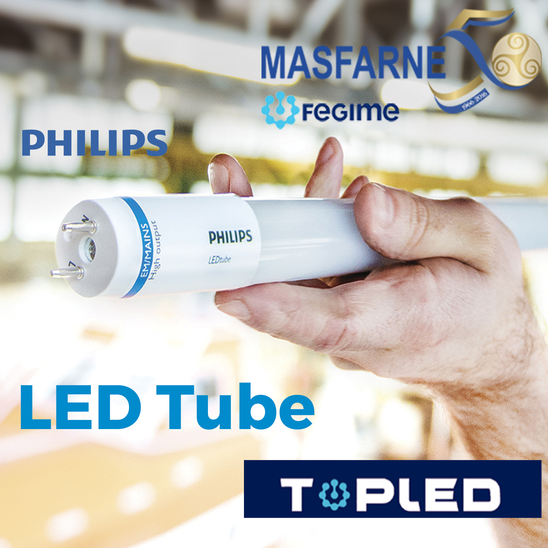 Tubos LED de Philips