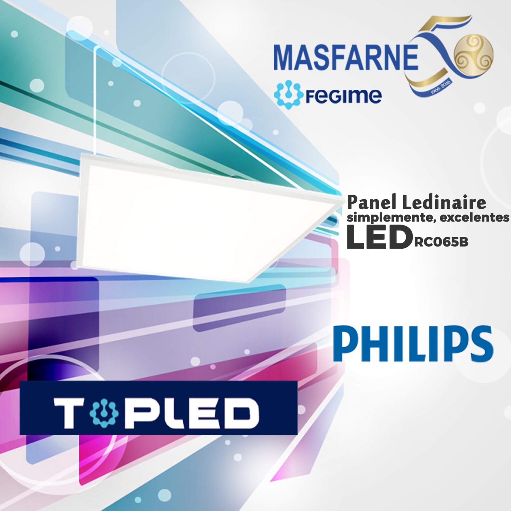 Panel LED de Philips